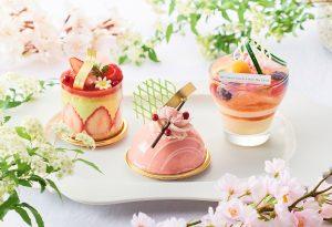 桜&苺をたっぷり使用! ホテルメイドの春の新作スイーツが登場の画像