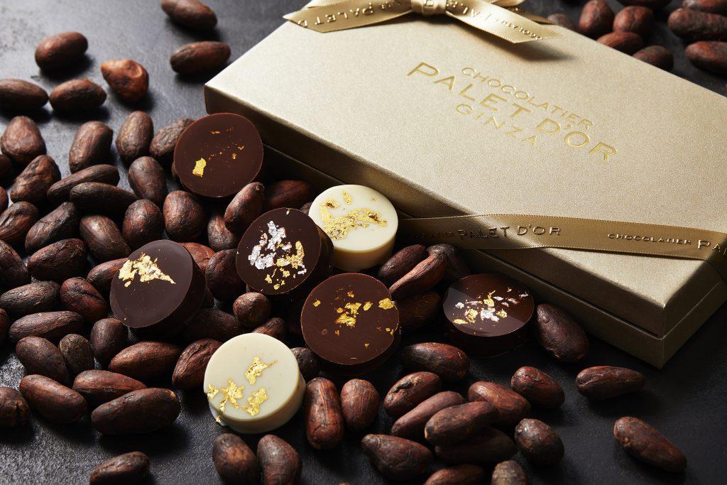 店舗限定の白いザッハトルテも! 「ショコラティエ パレ ド オール」が銀座に登場の画像