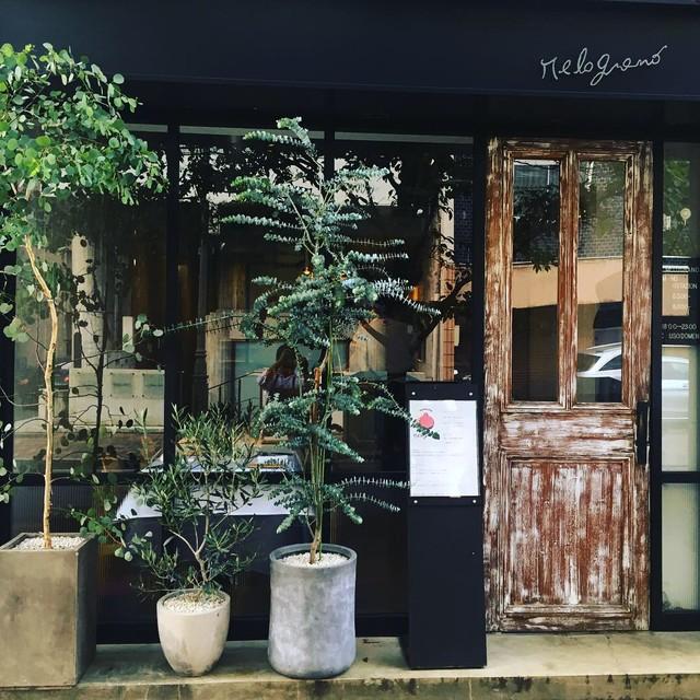 広尾商店街にひっそりと佇むイタリアンレストラン「メログラーノ」