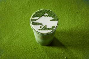 リンツ史上最もプレミアムな抹茶チョコレートドリンクが誕生!の画像