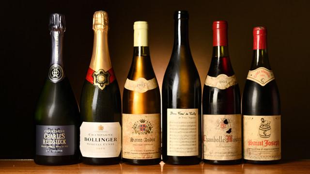 「au deco」の貴重な熟成ワイン