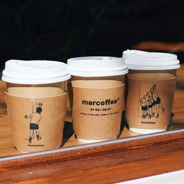 「ブレンドコーヒー」400円