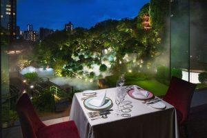 都内とは思えない絶景! ホテル椿山荘東京の夏を味わうレストランの画像