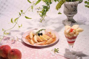 今が旬! 福岡で食べたい桃スイーツ5選の画像