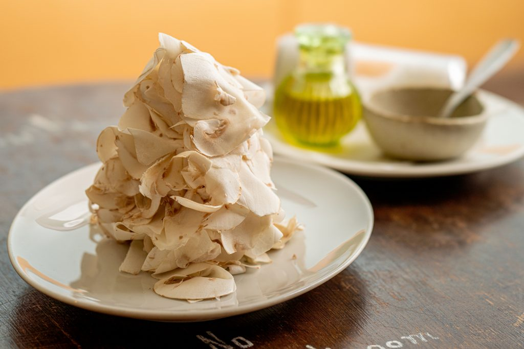 おいしく食べておなかを応援。マッシュルームづくしのコースで、目指せ腸美人!の画像