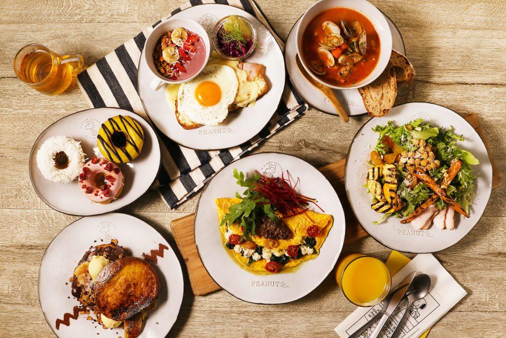 スヌーピーの世界でお食事! 「ピーナッツ カフェ」の新ブランドが原宿に誕生の画像