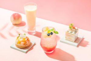 トロピカルフルーツを存分に味わえる限定スイーツに、旬の桃を使った夏フェアも! 最新スイーツ3選の画像