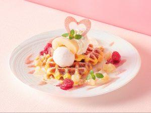 みずみずしい桃スイーツが大充実! アニヴェルセル カフェにて夏の期間限定フェアを開催中の画像