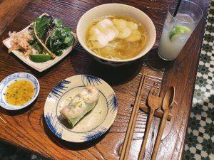 予約困難店の味をランチで気軽に。話題のベトナム料理店で食道楽モデルも夏気分を満喫の画像