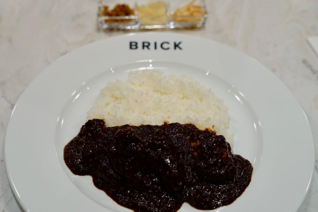 Brick黒毛和牛ビーフカレーwithライス