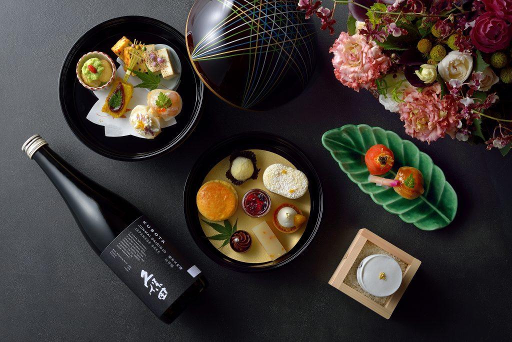 日本酒とコラボレーション! ホテル椿山荘東京の料亭でいただく、和のアフタヌーンティーの画像
