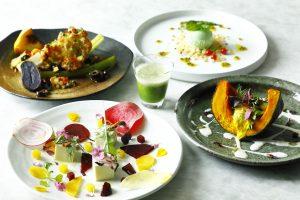 8月31日は、野菜の日! 東京の取れたて野菜が主役の「ベジフルコース」が登場の画像