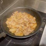 フライパン一つでOK! 人気シェフのまかない「豚バラ丼」の作り方の画像