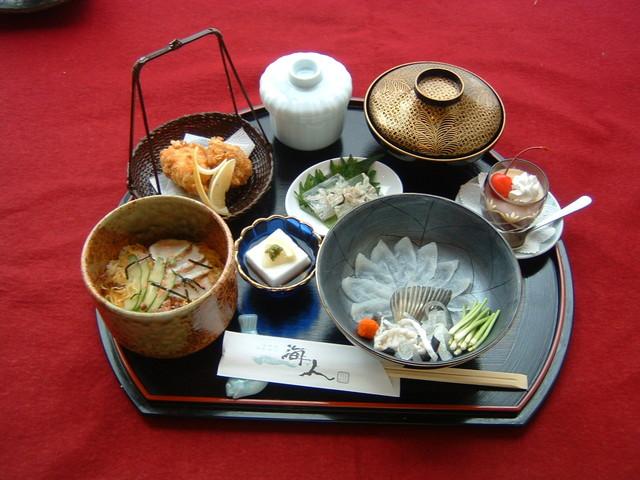 海人「ふく御膳 お通」2,200円(税込)