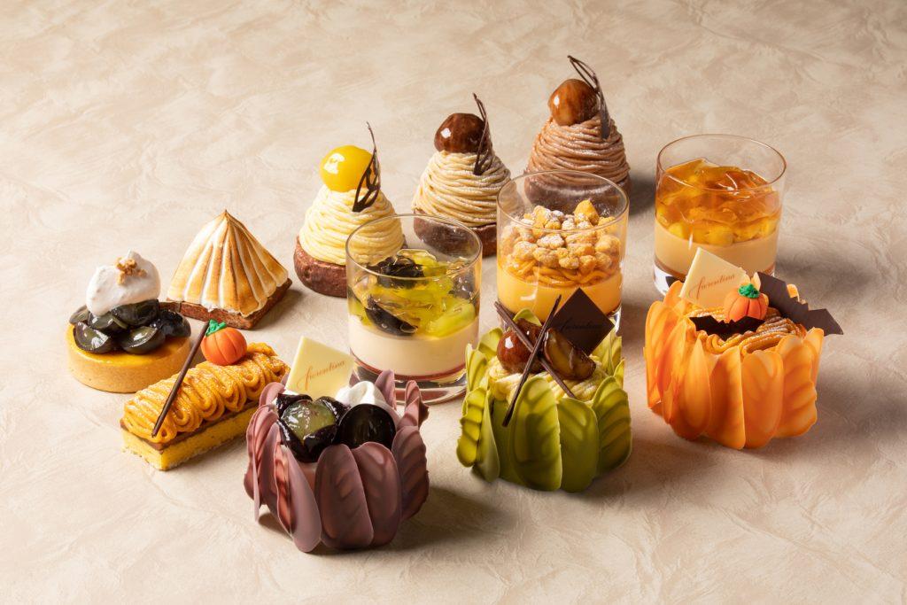 """ホテルで楽しむ""""秋の味覚狩り""""! モンブラン5種の食べ比べや秋食材を贅沢使いしたスイーツが登場の画像"""